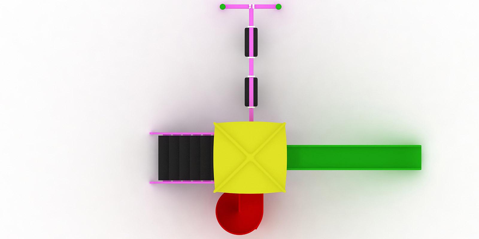 Polyester Kaydıraklı Oyun Grupları ÇOG-17