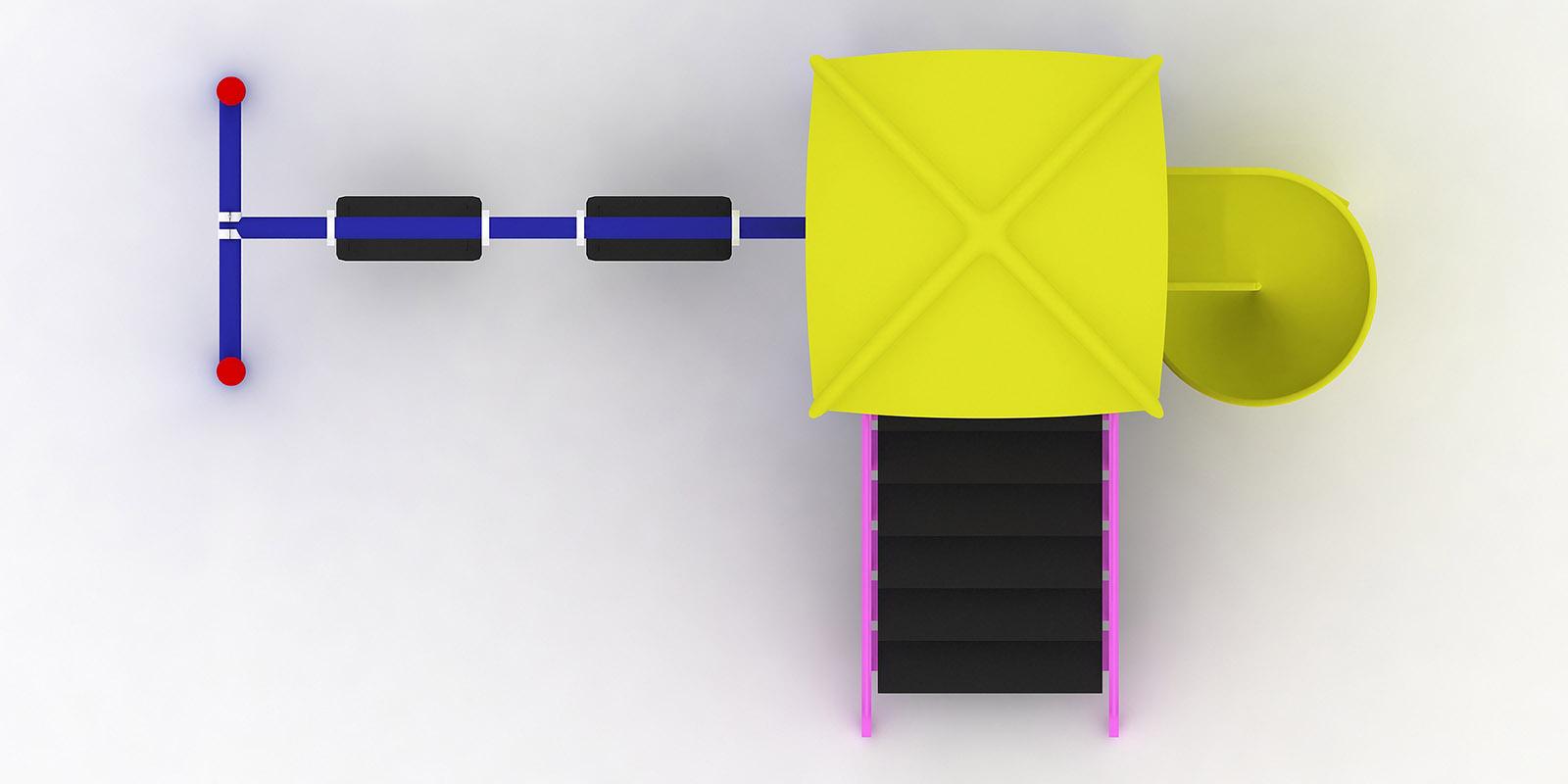 Polyester Kaydıraklı Oyun Grupları ÇOG-19
