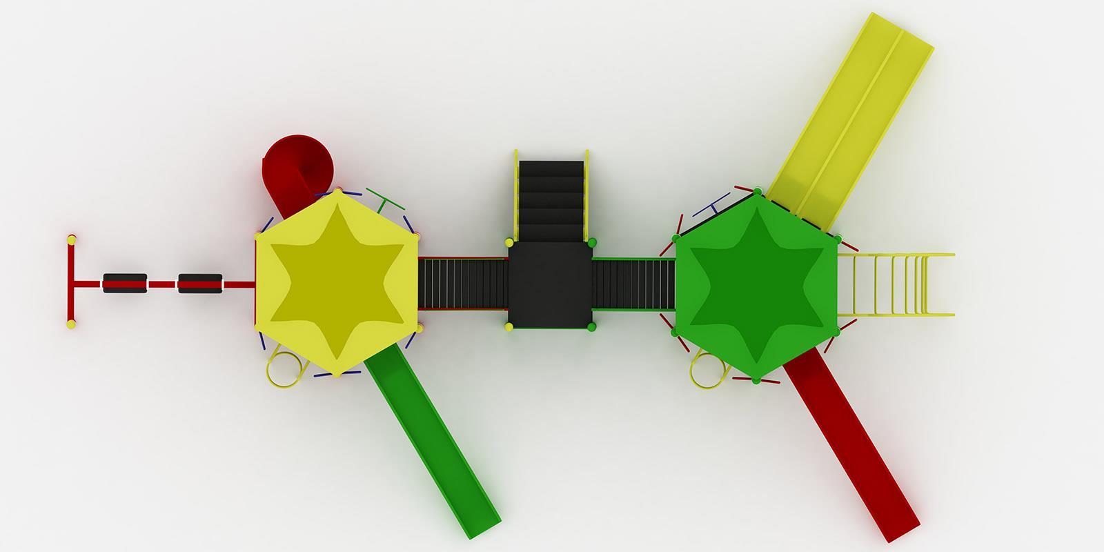 Polyester Kaydıraklı Oyun Grupları ÇOG-20