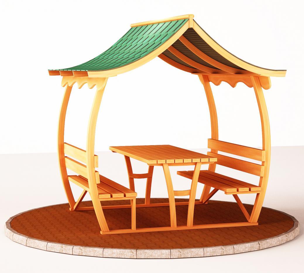 Çatılı Piknik Masaları ÇPM-05