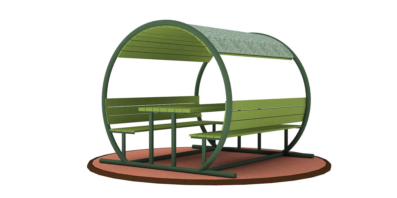 Çatılı Piknik Masaları ÇPM-03