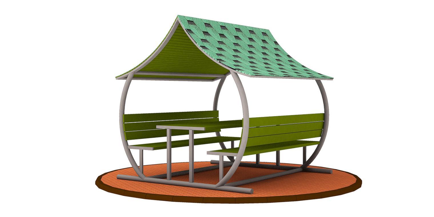 Çatılı Piknik Masaları ÇPM-02