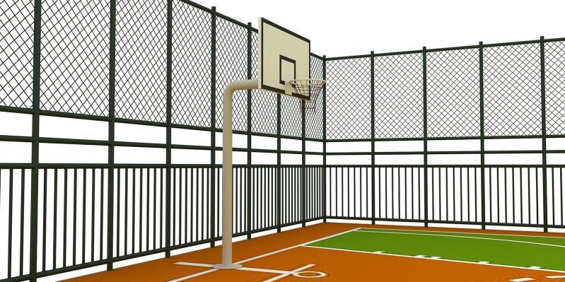 Basketbol Saha ve Pota